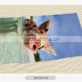 wholesale cheap advertising microfiber logo printed beach towel                                                                                                         Supplier's Choice