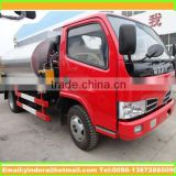 Top quality small 4000 litres asphalt pump truck, bitumen emulsion china, asphalt tanker truck