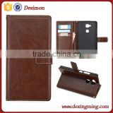 Flip Leather wallet case for Huawei ascend Mate 7 cover case