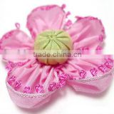 2013 New design wholesale DIY handmade accessories grosgrain ribbon flowers DIY crafts H-10
