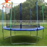 10ft fly bed trampoline with safety enclosure