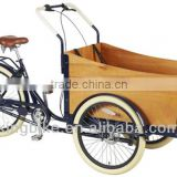 2015 new Europe 3 wheel cargo bike for family/steel frame cargo bike with disc brake                                                                         Quality Choice