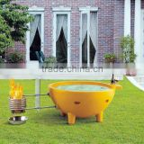 cUPC certified red-tub-china,6 person hot tub,colored bath tub