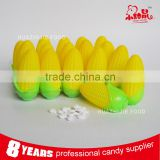 Wholesale corn shape toy candy cute candy toy for kids