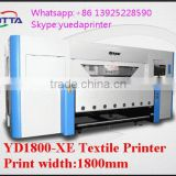 China hot sale industrial1.8m 3d used textile printing machines /digital commercial cotton fabric printer with best price