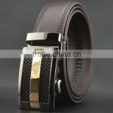 Men Fashion Genuine Leather Belt Auto Lock Buckle Belt for Wholesale                                                                         Quality Choice