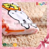 2015 Hot Sale China Manufacturer High Quality Baby Safe Fabrics Baby Blanket Coral Fleece Fabric