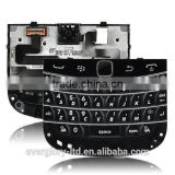 China wholesale new replacement parts keypad keyboard trackpad for Blackberry Bold 9900 9930 black