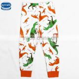(B5772)Nova wholesale baby boy casual pants hot sale white children garment printing legging fresh stock
