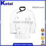 White long sleeves chef Jacket, Cool Vent Chef Coat /chef uniform jacket / chef uniforms jacket shirt