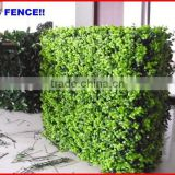 2013 factory fence top 1 Chain link fence hedge vinyl coated tension wire chain link fence