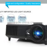 Surprise price!! Native VGA (800*480 Pixels) lcd projector support 1080p + AV SD VGA USB HDMI VGA