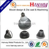 custom aluminum die casting led street lighting heat sink, led lighting extrusion heat sink