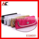 Factory-direct sales Fashion casual purse chain sling bag Stewardess dress evening bag made in china