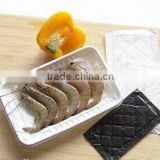 With Water-absorbed Packing Plastic Meat Tray