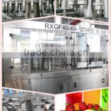automatic juice production plant/bottling machinery/drinking lines/fresh juice filling machine