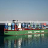 Sea shipment from china to Jebel Ali