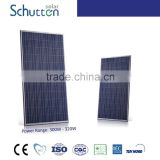Schutten tire 1 for home poly crystalline silicon 72 cells 300 watt solar photovoltaic panel module with CE/TUV/UL