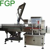 Automatic capper machine/lug capping machine glass capper machine with cap feeder