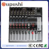 Professional Sound Mixer 8 Channel Sound Audio DJ Mixer