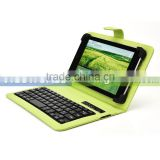 Universal Wireless Bluetooth Keyboard PU Leather Stand Case with Soft Claws for 10 inch tablet