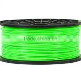 Full Color Good Quality 3D Printer Green Filament 1.75mm ABS 1kg/2.2lbs For RepRap MarkerBot