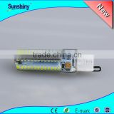 Hot g9 10w led dimmable 12v 3014 smd led g9 500lm