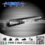 100w 20inch Led Work Driving Offroad Combo Single Light Bar 4wd Truck Fog SUV