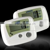 High quality digital sensor pedometer , pocket pedome
