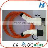 Euroepan stanadrs TUV CE j1772 type 1 to iec 62196 type 2 ev charger cable for electric vehicle