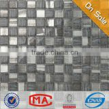 JY-G-41 glass mosaic with mesh shading glass fiber mesh for mosaic Beautiful glass mosaic