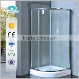 Hangzhou factory directly shower enclosure to corner with cheap price