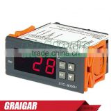 New 220V Digital LCD Sensor Temperature Control Controller With Alarm STC-8000H wholesale
