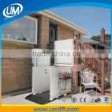 Made In China Disabled People Needed Hydraulic Elevator Outdoor Wheelchair Lifts For Lifting from1-6 Meters