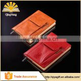 Fashion New Style Custom Leather Notebook With Pocket Durable Event Planner Hot Sale Diary