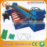 alibaba china supplier used Two waves steel guard highway guardrail roll forming machine