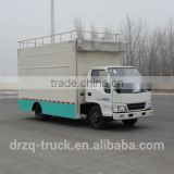 Euro 4 JMC mobile restaurant truck optional equiped with generater, refreigerator, cold drink machine, vendor stall, cooker, etc