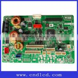 LCD display module monitor board with Analog input, RCA connector