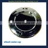 plastic chrome wheel hubcaps for cadillac use