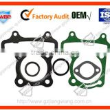 Motorcycle gasket set for cylinder CG125/150/200/JY110/GY660/680/6125/6150/JH70/TBT110/JOG50/DIO50