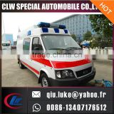 Professional ambulance vehicle price with high quality