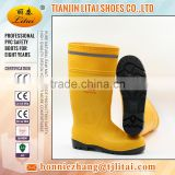 Mining Field CE EN 20345 S5 Safety Boots/PVC safety Boots with reflective stripe/ Professional Factory Cheap Wholesale BOOT