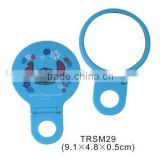 Plastic custom logo pocket mirror/hand hold cosmetic mirror