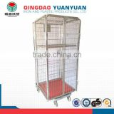 Multifunctional cargo trolley, removable metal cage, metal steel cage