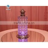 Hot selling bling wedding decoration crystal diamond candle holders
