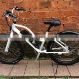 26 inch beach cruiser electric bike with hidden battery adult chopper bicycle beach cruiser bike