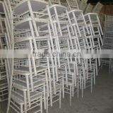large stocks unpainted wooden banquet chiavari chair (chivari)