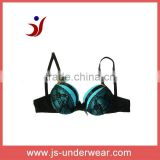 2012 hot pupular black lace sexy push up bra