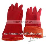 high quality Rubber household gloves/kitchen hand gloves