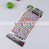 Craft Rhinestone Self Adhesive Acrylic Gems Sticker decorate phone shell/car/cup/glasses